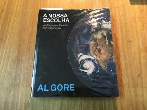 Livro de AL GORE sobre a Crise Climática