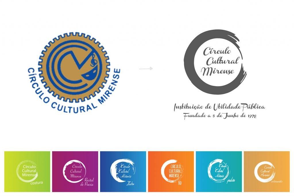 circulo cultural mirense, ccm, mira de aire, associação, rebrand, design, logo, logótipo, símbolo