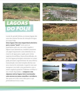 Recuperas as Lagoas do Polje
