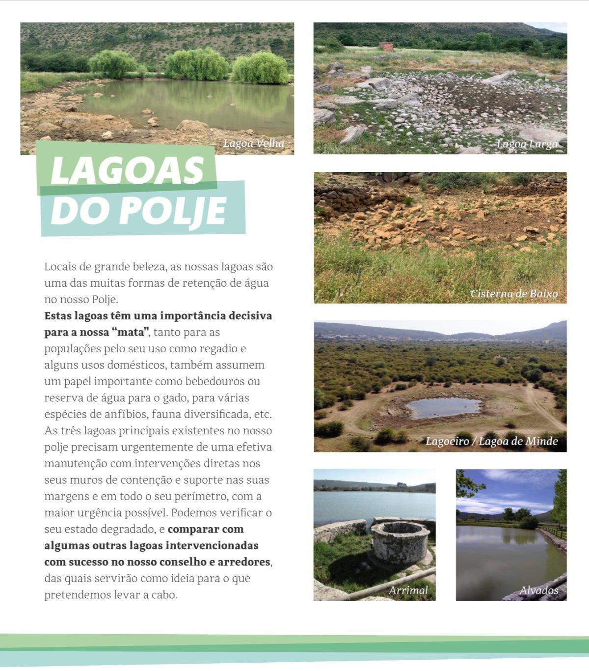 Recuperas as Lagoas do Polje